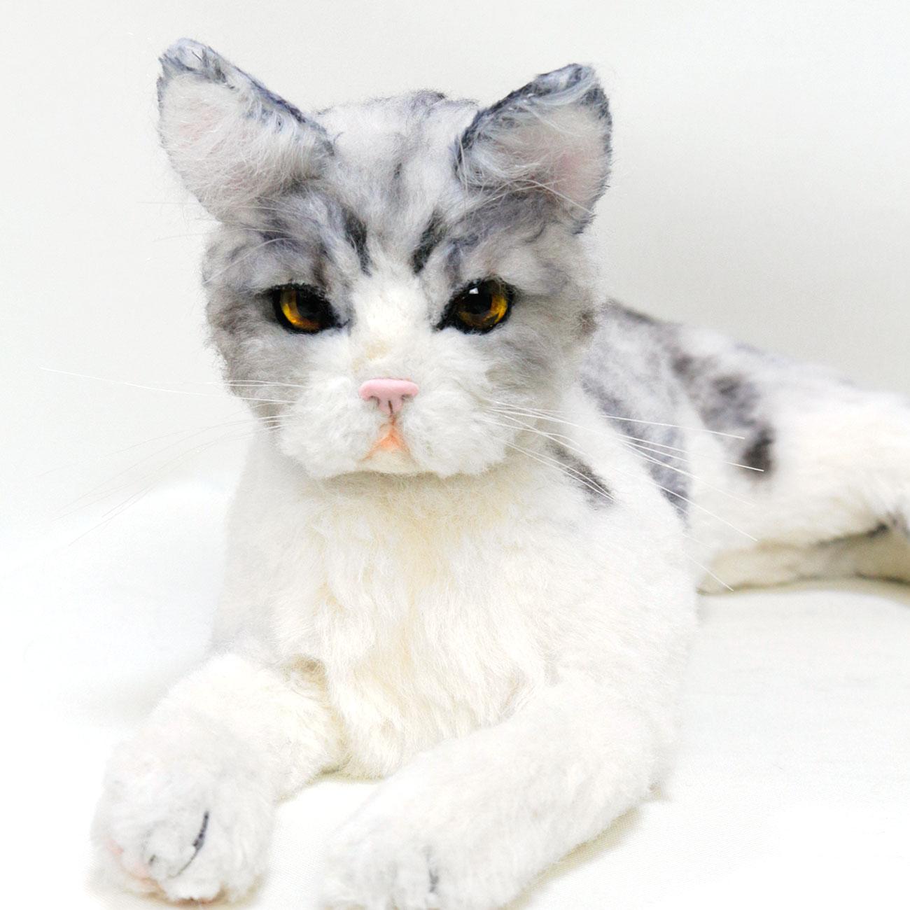アメリカンショートヘアー MIX 猫 ぬいぐるみ